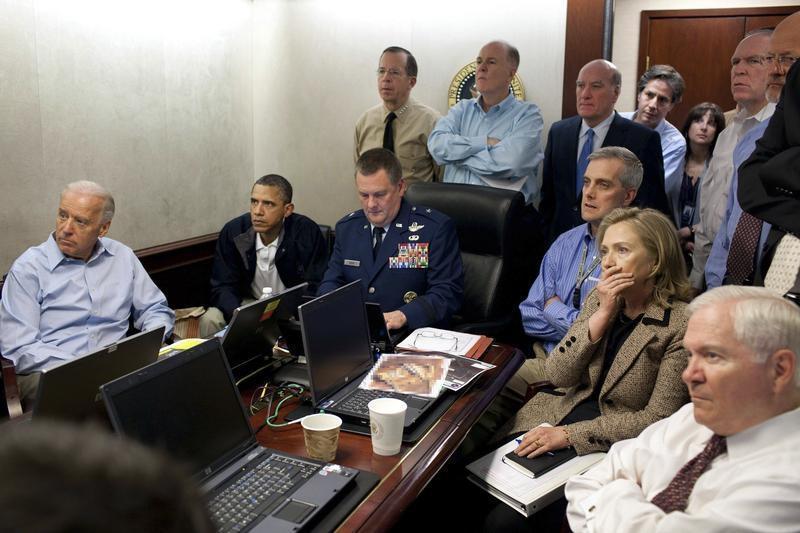 Obama e os serviços de inteligência norte-americanos acompanham a missão de ataque à casa de Bin Laden (Reuters)