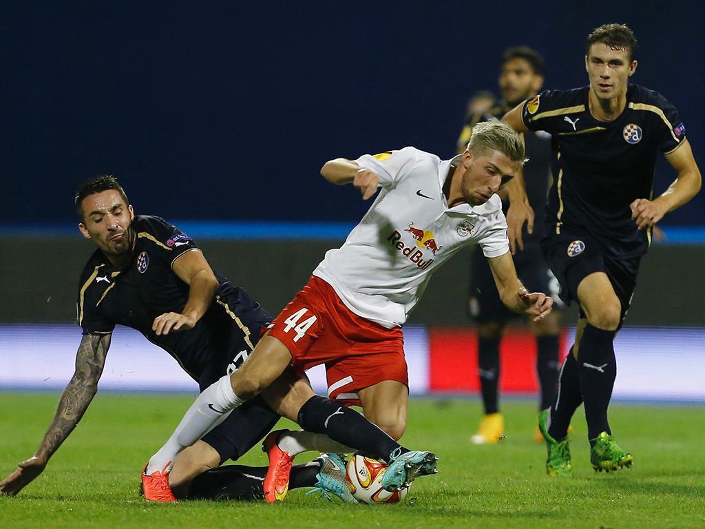 Liga Europa: Dinamo Zagreb vs Salzburg (REUTERS)