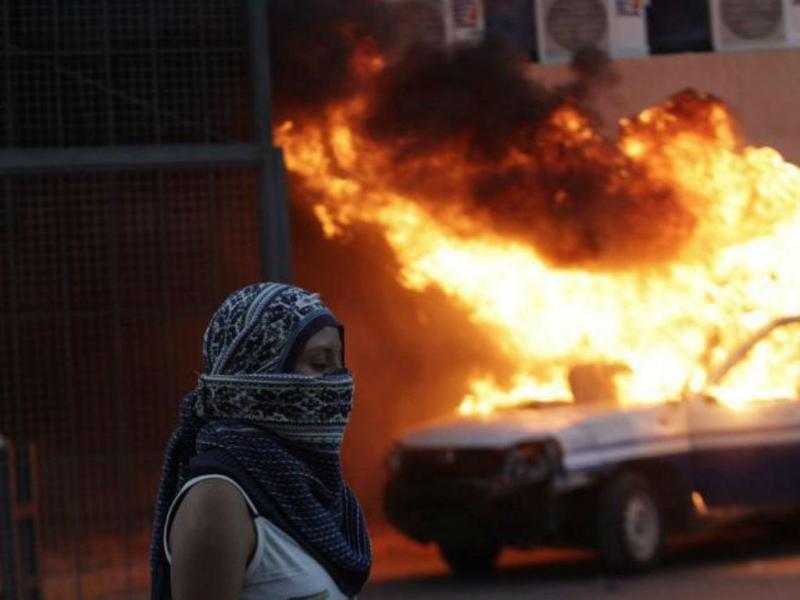 Protestos no México pelos estudantes desaparecidos [Foto: Reuters]