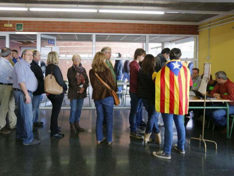 Votação na Catalunha [Foto: Reuters]