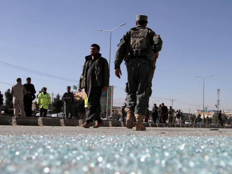 Ataques no Afeganistão [Foto: EPA]