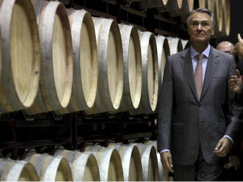Cavaco Silva durante a visita a Borba e Estremoz [LUSA]