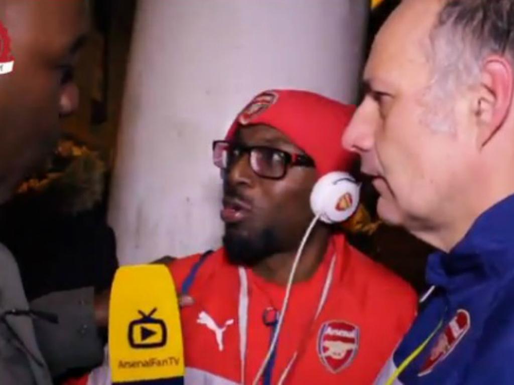 Adeptos do Arsenal