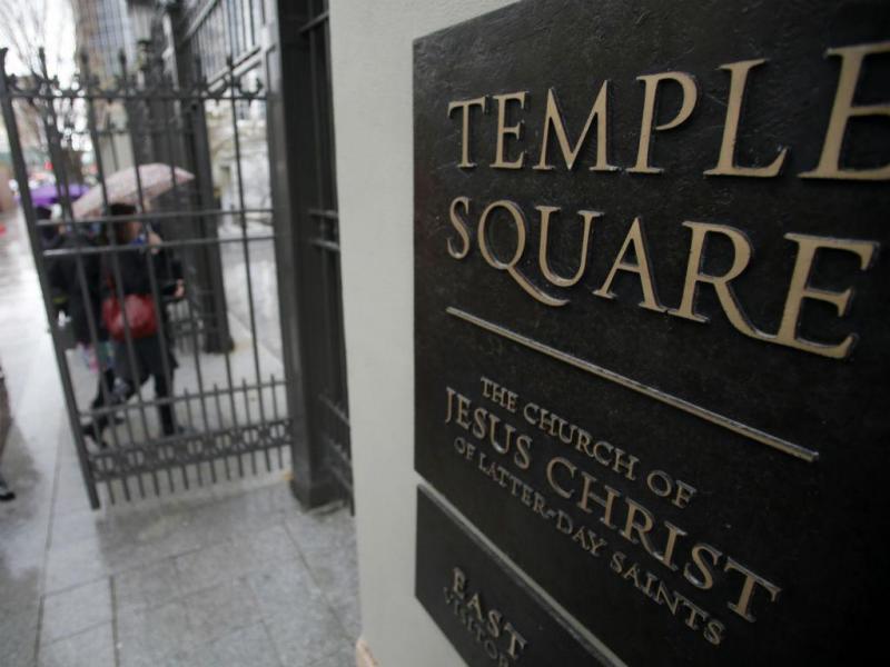 Temple Square, Igreja de Jesus Cristo dos Santos dos Últimos Dias [Reuters]