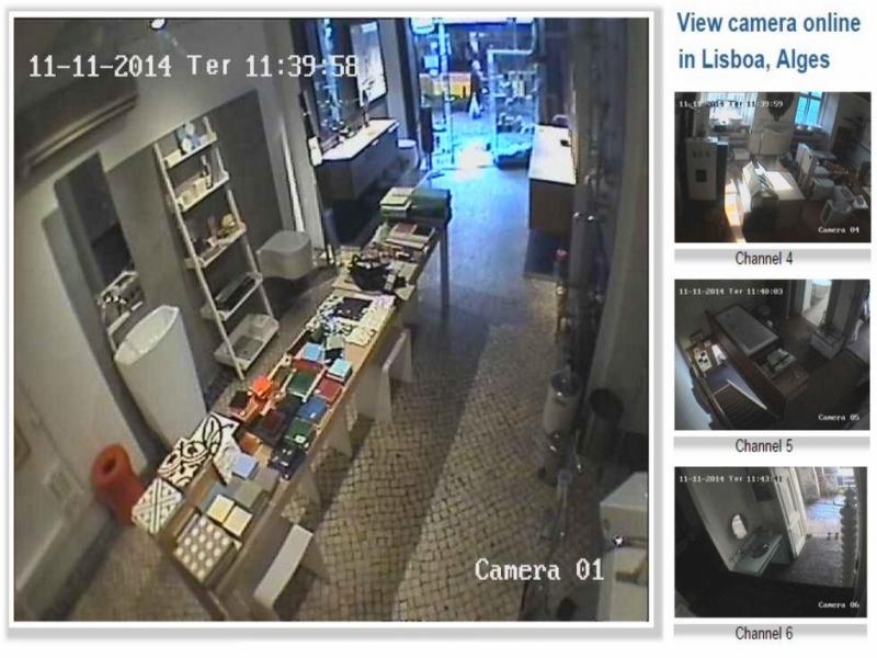 Câmaras de vigilância