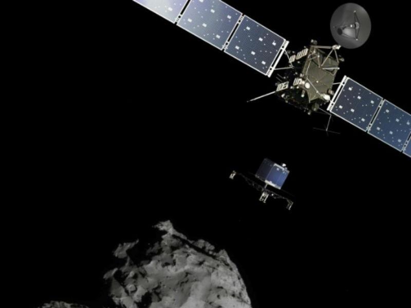Aterragem em cometa