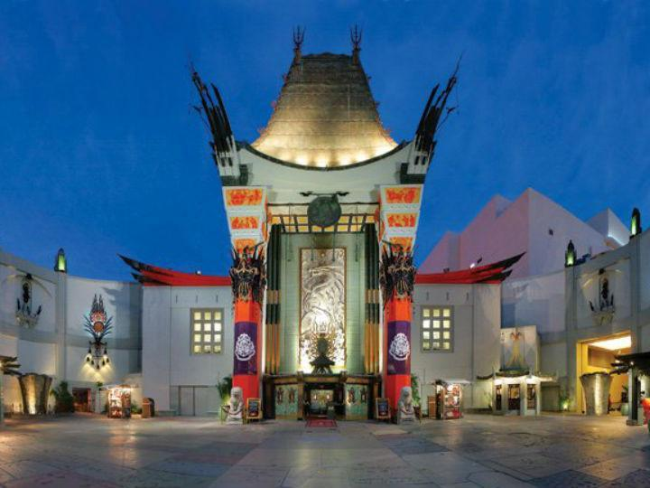 TLC Chinese 6 theatre, em Hollywood
