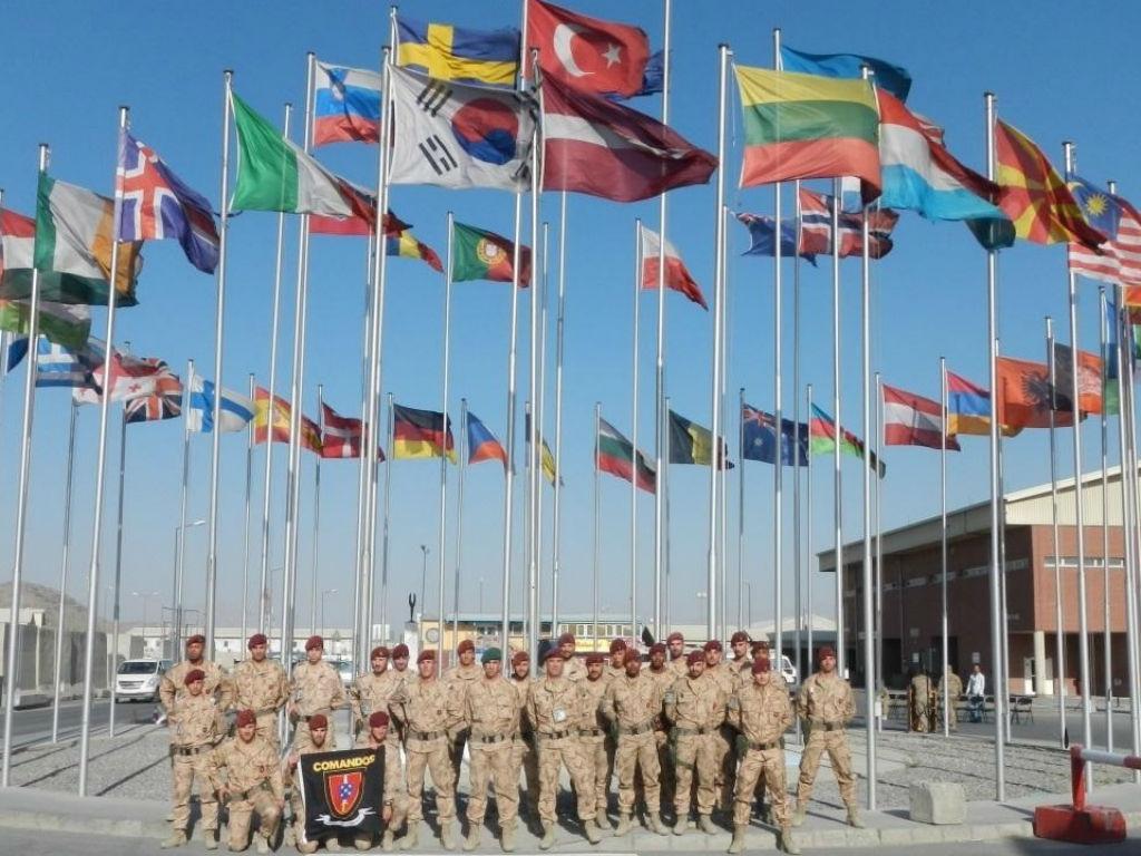 Comandos das Forças Armadas no Afeganistão [Foto: site oficial Estado-Maior-General das Forças Armadas]