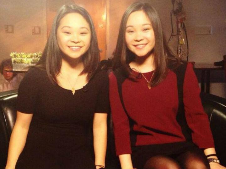 Irmãs gémeas separadas à nascença