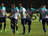 Treino Seleção Nacional (LUSA)