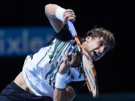 Kei Nishikori vs David Ferrer (LUSA)