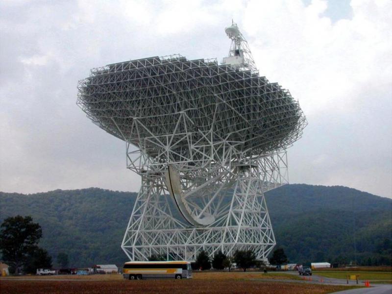Radiotelescópio de Green Bank (Reuters)