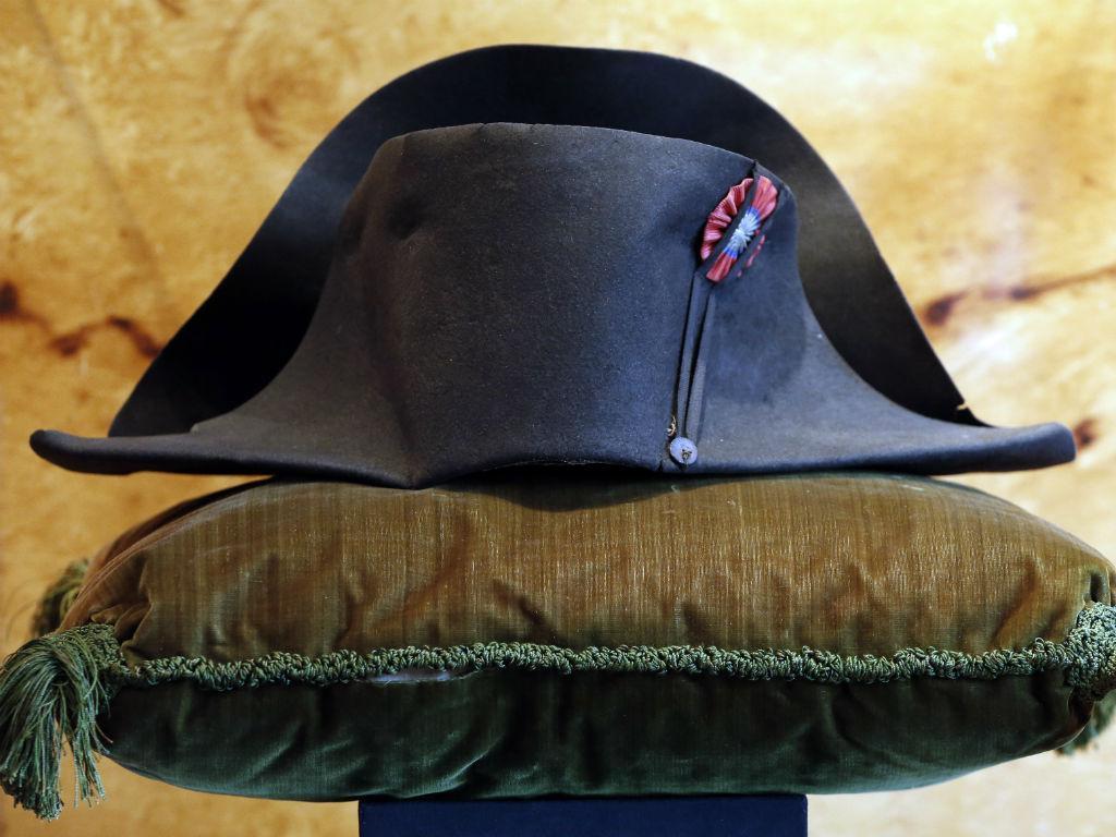Chapéu de Napoleão (Reuters)