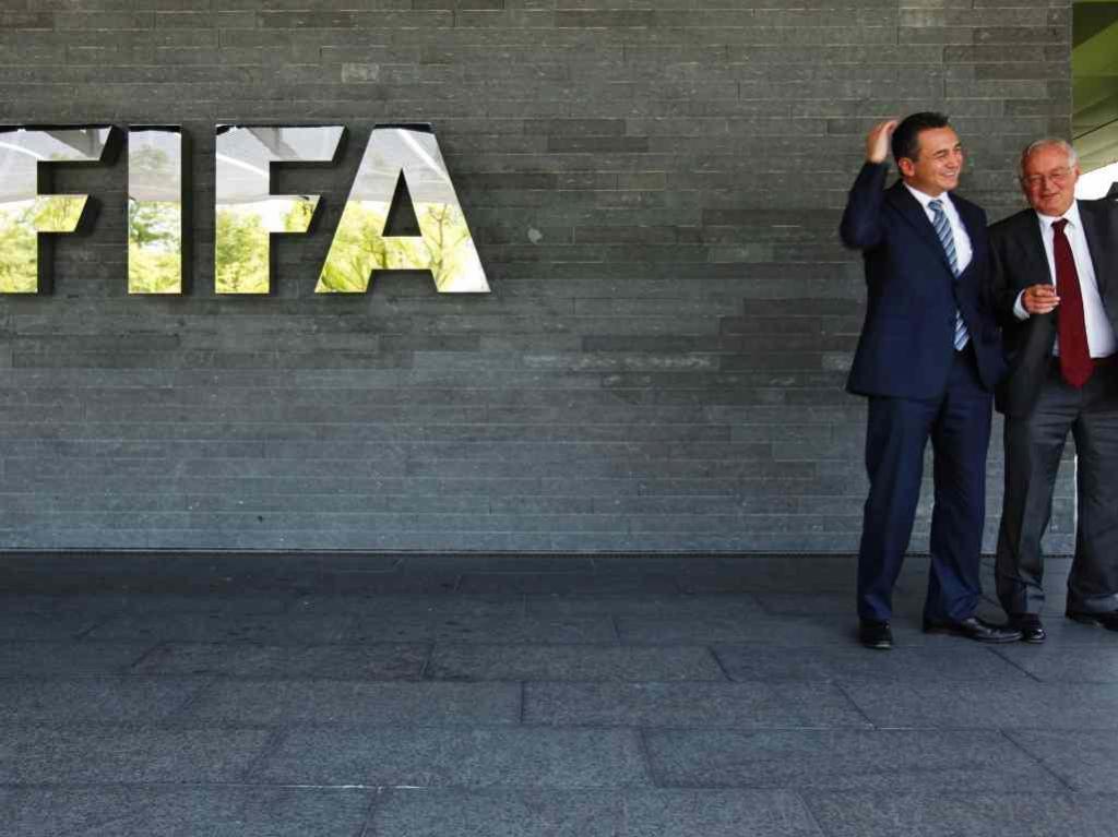 FIFA: Michael Garcia e Hans-Joachim Eckert