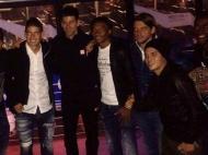Djokovic com a seleção da Colômbia