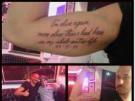 Tatuagem Jonas Gutierrez