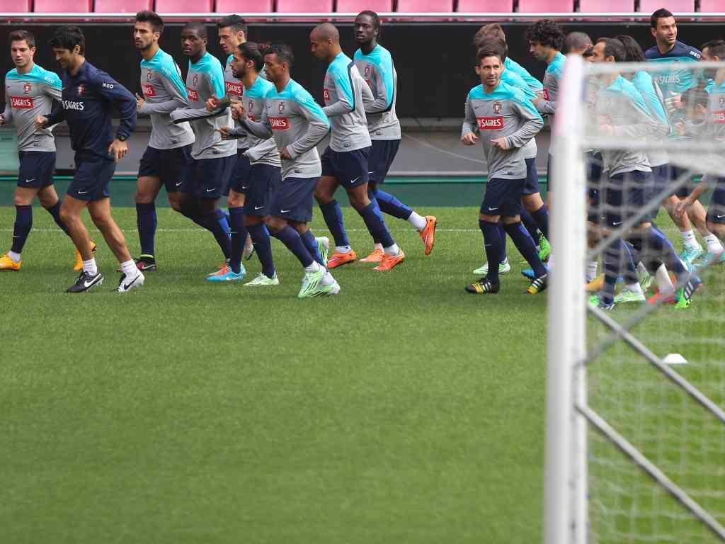 Seleção: treino na Luz antes da Argentina (Lusa)