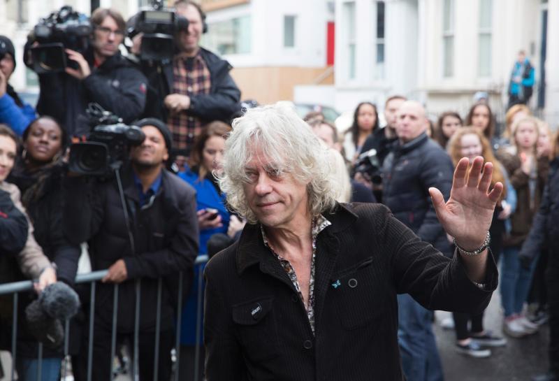 Bob Geldof (REUTERS)
