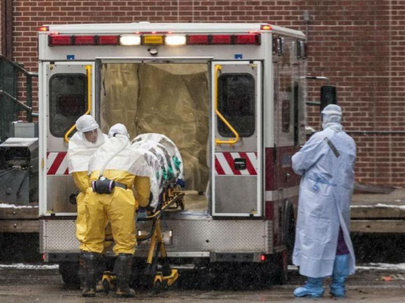 Martin Salia, médico com ébola [Foto: Reuters]