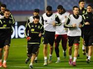 Seleção espanhola (Reuters/Miguel Vidal)