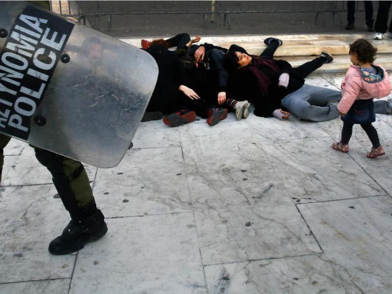 Manifestação em Atenas [Reuters]