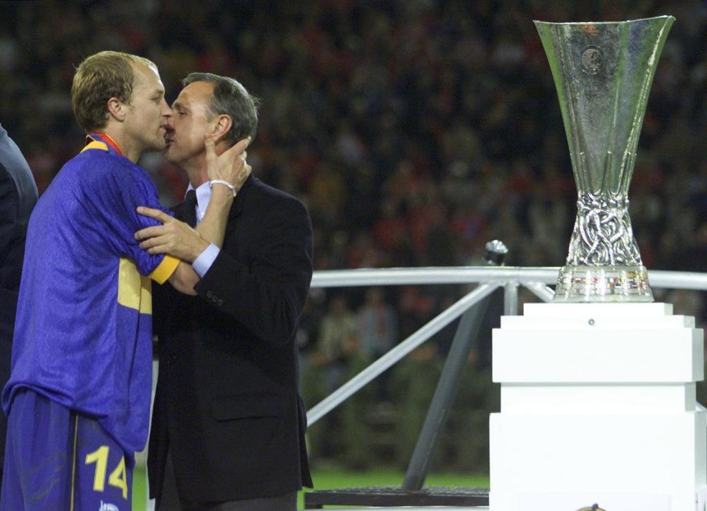 Jordi e Johann Cruijff (Reuters)
