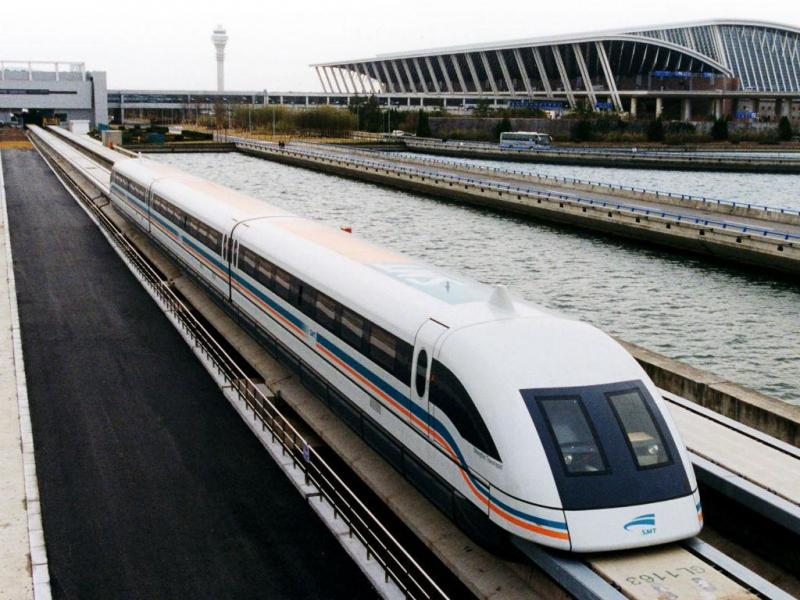 Comboio Shanghai Maglev (Reuters)