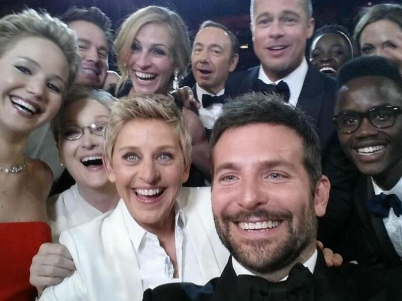 Selfie dos Óscares