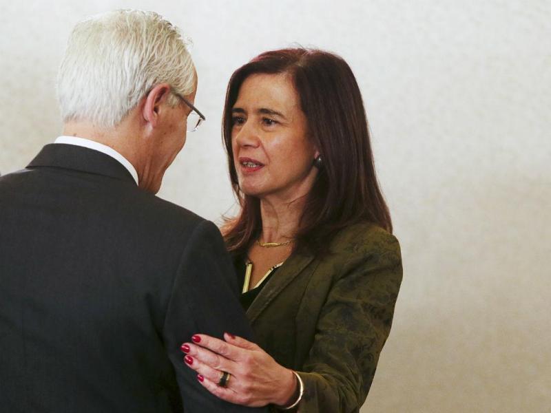 Tomada de posse de Anabela Rodrigues como ministra da Administração Interna (INÁCIO ROSA/LUSA)