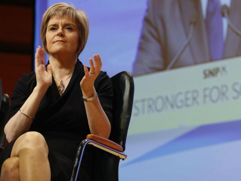 Nicola Sturgeon (REUTERS)