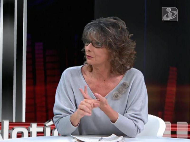 Constança Cunha e Sá na TVI24