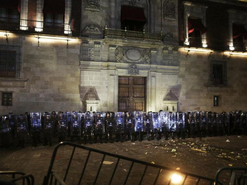 Protestos no México (Reuters)
