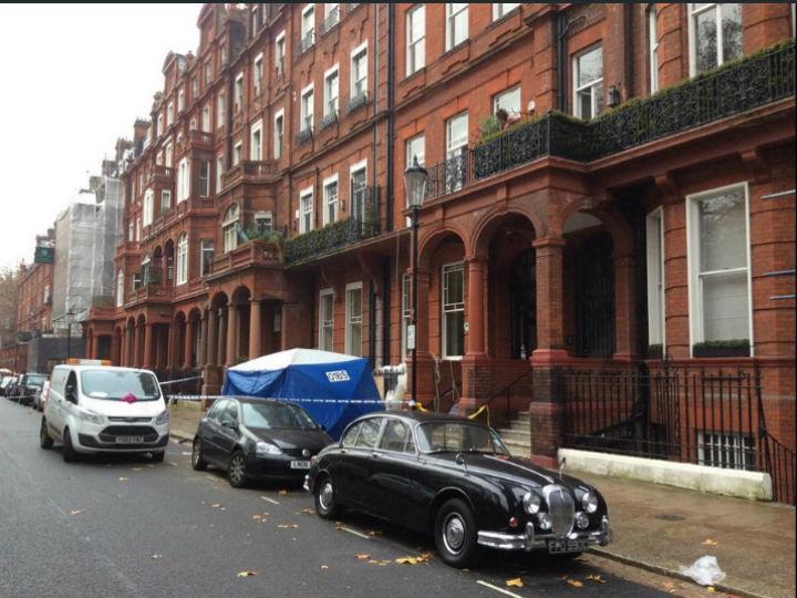Duas pessoas morreram depois de grade de varanda ter caído em Londres