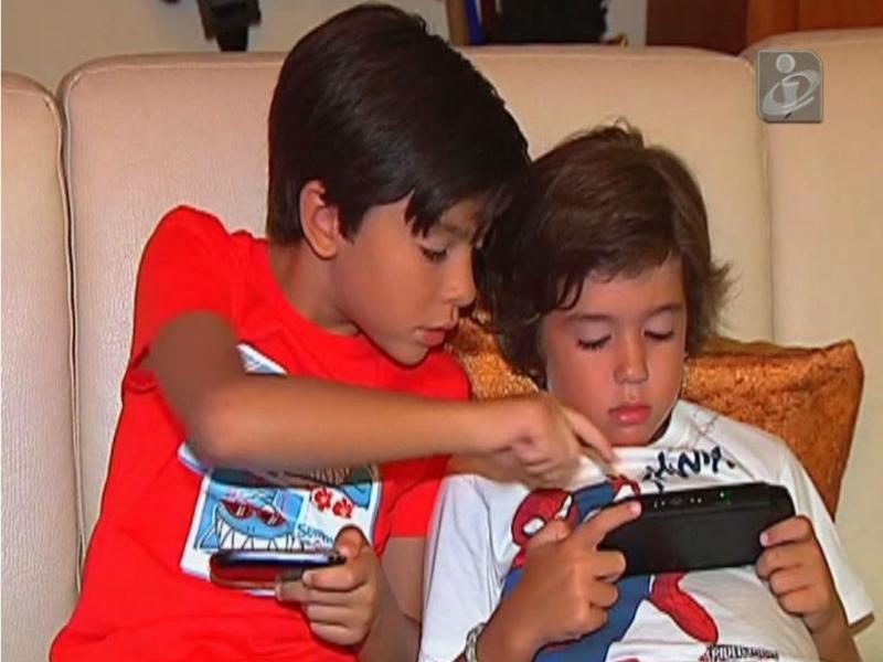 Crianças e telemóveis