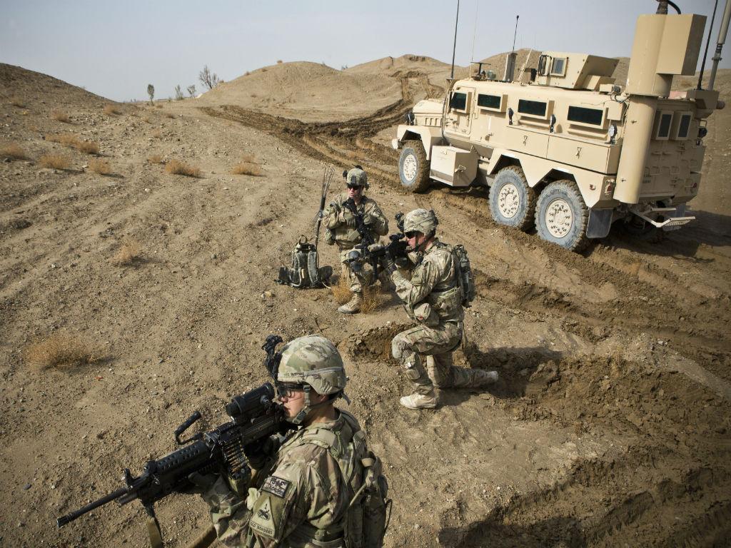 Tropas norte-americanas no Afeganistão (REUTERS)