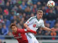 Hannover vs Leverkusen (EPA/Carmen Jaspersen)