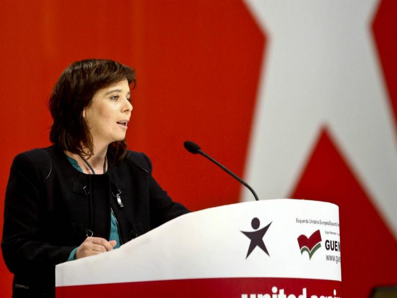 Catarina Martins - IX Convenção do Bloco de Esquerda [Lusa]