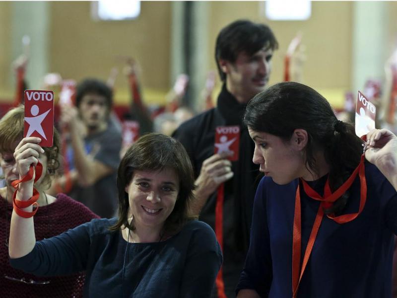 Catarina Martins e Mariana Mortágua - IX Convenção do Bloco de Esquerda [Lusa]