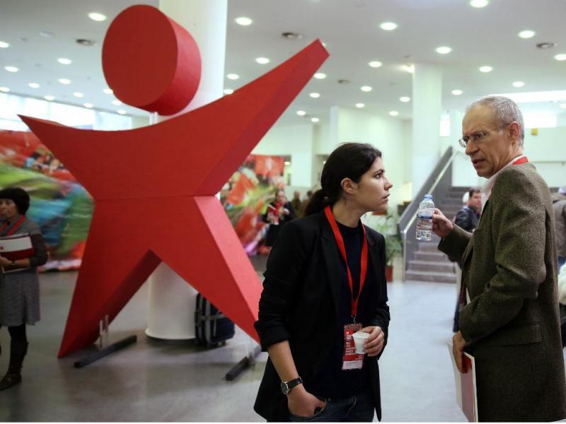 Mariana Mortágua e Francisco Louçã - IX Convenção do Bloco de Esquerda [Lusa]