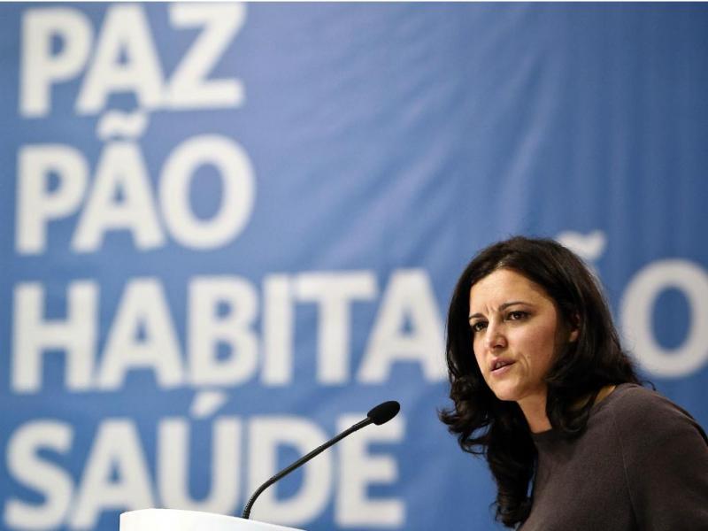 Marisa Matias - IX Convenção do Bloco de Esquerda [Lusa]