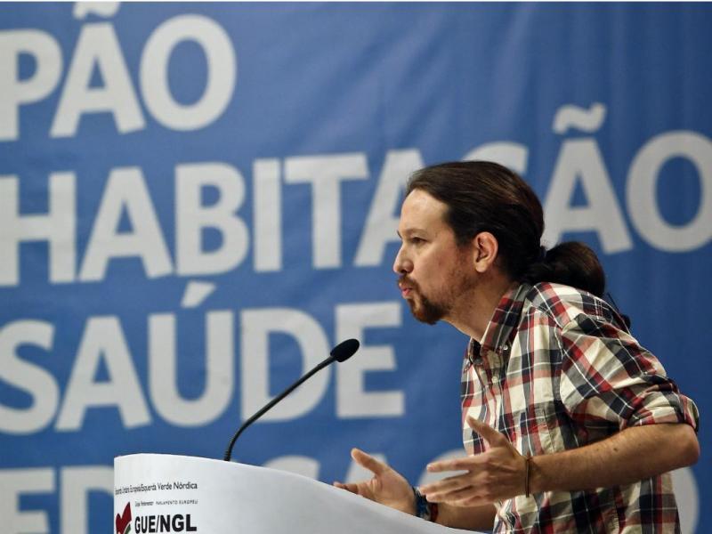 Pablo Iglésias - IX Convenção do Bloco de Esquerda [Lusa]
