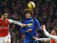 Arsenal vs Man United (REUTERS)