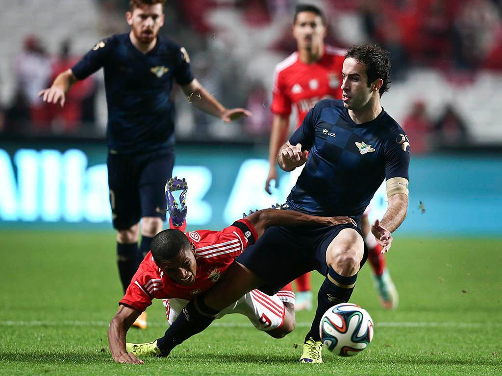 Benfica vs Moreirense (Manuel de Almeida/Lusa)