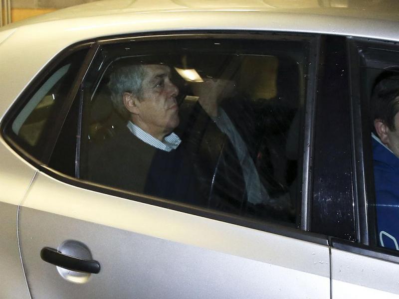 José Sócrates à saída do Campus de Justiça (Lusa/ Paulo Carriço)