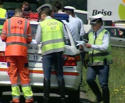 Acidente em contramão na A3 - Imagem TVI