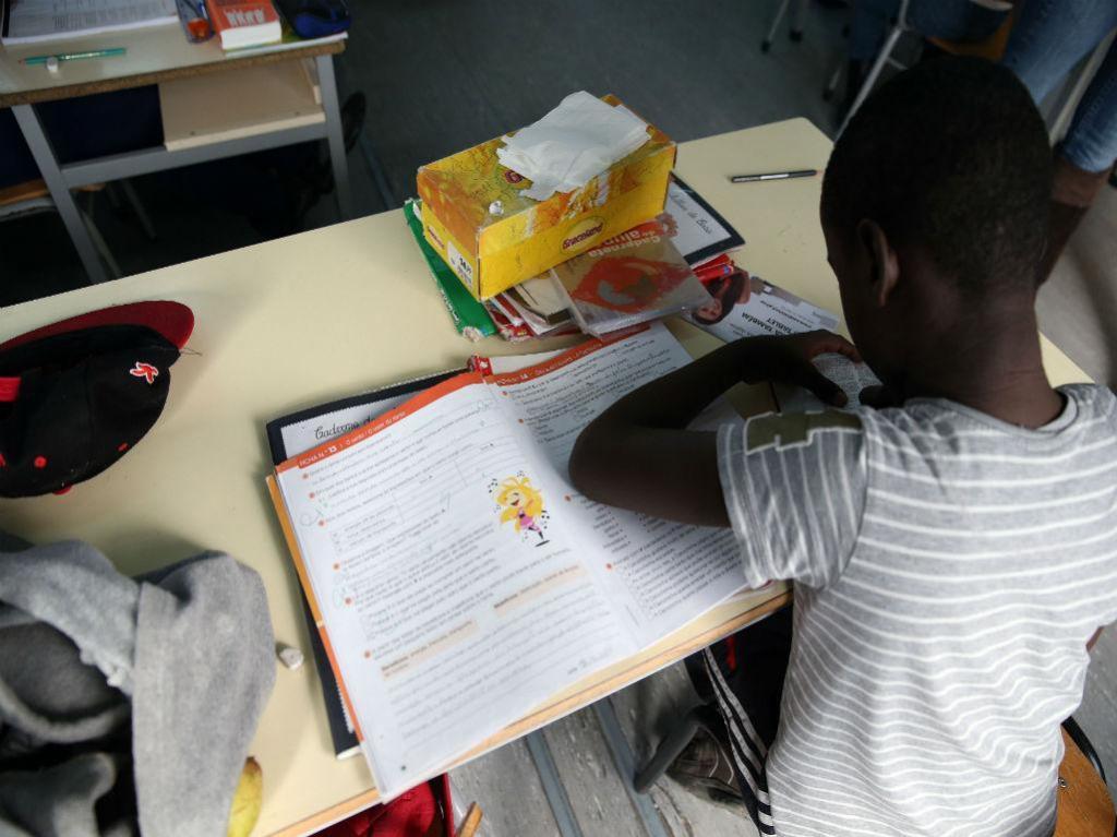 Escola básica de Camarate (LUSA)