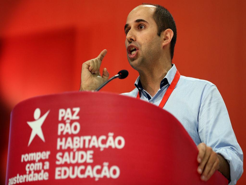 Pedro Filipe Soares na IX Convenção do BE (LUSA)