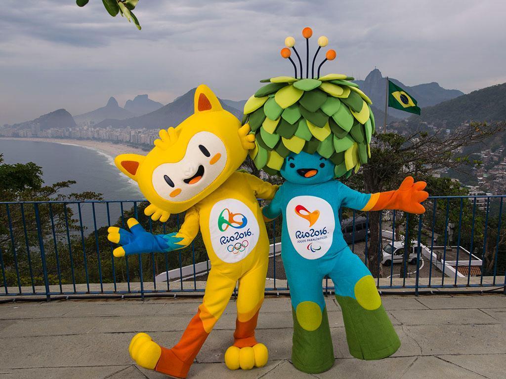 Mascotes dos Jogos Olímpicos e Paralímpicos (REUTERS/Pilar Olivares)