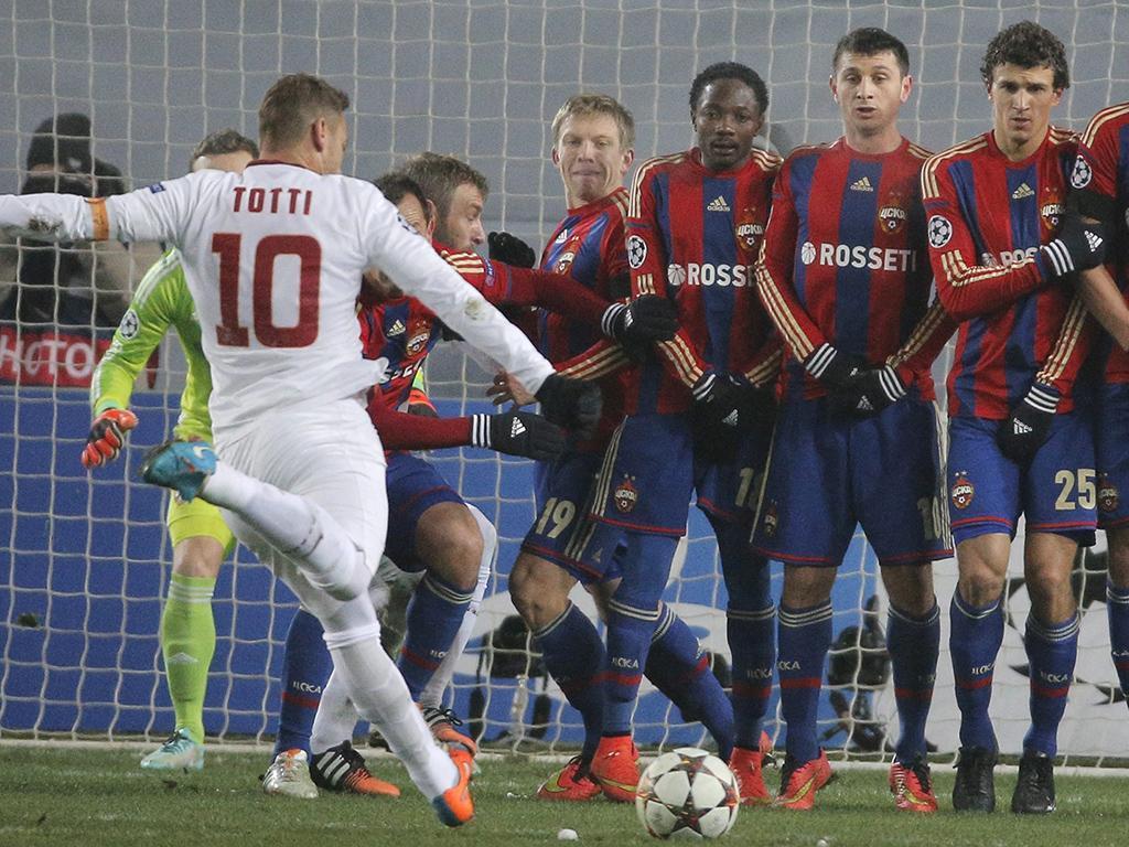 CSKA Moscovo-Roma