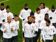 Mónaco prepara jogo com Leverkusen